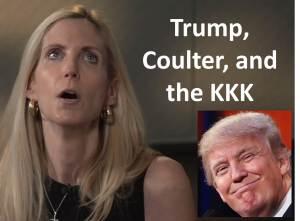 Trump Coulter KKK